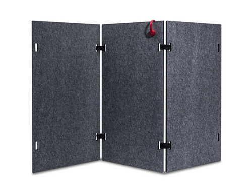 Acoustic shield wall